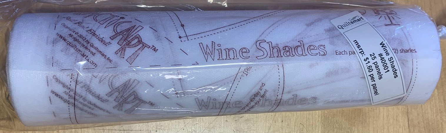 Practical Art! Wine Shades 25-panel roll (50 Shades)