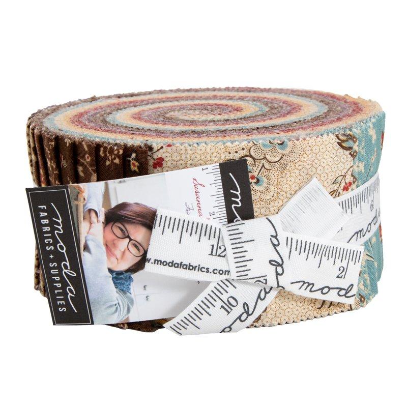 Susannas Scraps Jelly Roll (42 - 2 1/2 x WOF Strips) designed by Betsy Chutchian for Moda