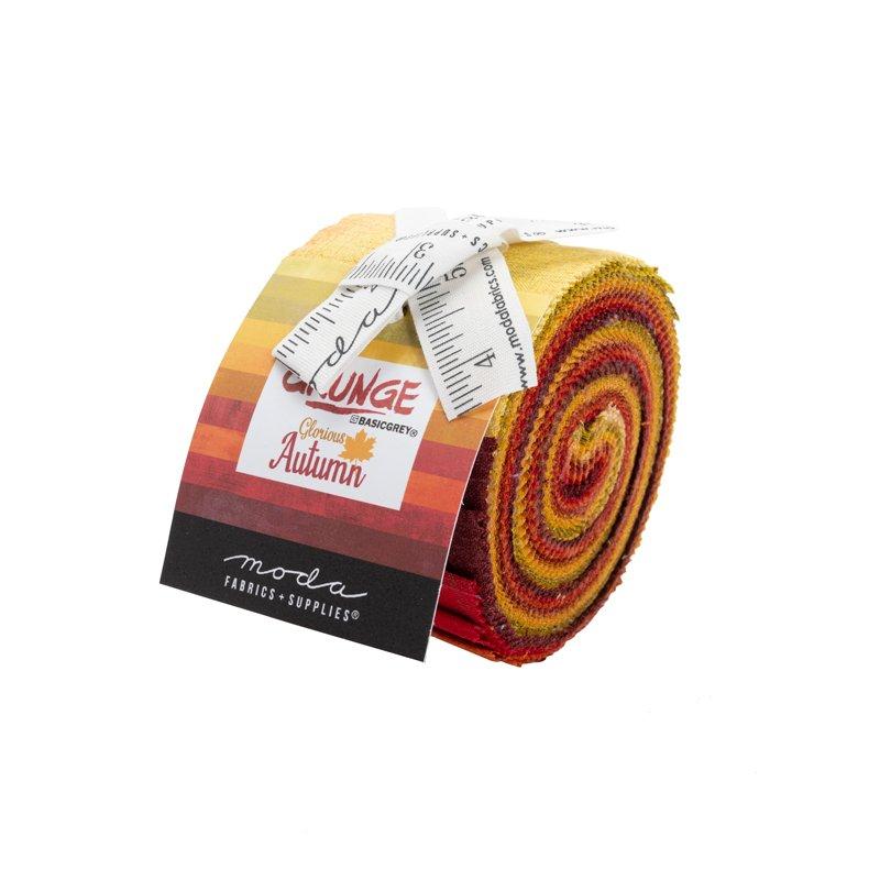 Grunge Glorious Autumn Junior Jelly Roll. 10 piece assorted skus