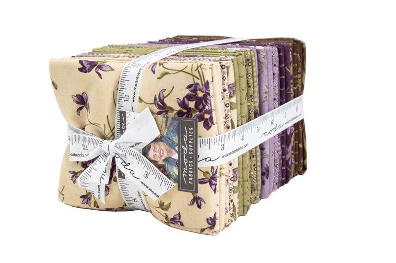 Sweet Violet 36 Fat Quarter Bundle designed by Jan Patek Quilts for Moda