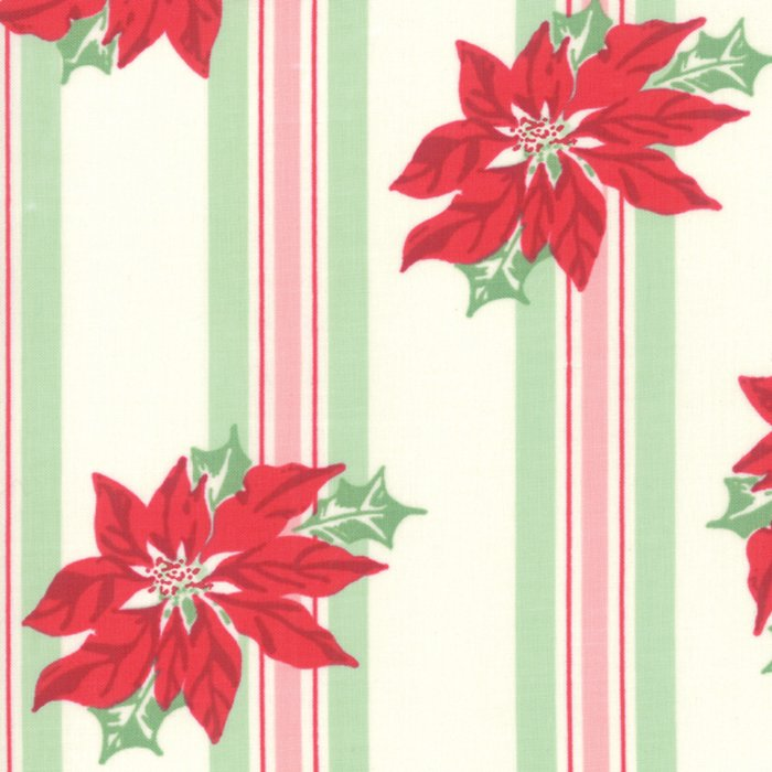 Sweet Christmas Marzipan Poinsettias designed by Urban Chiks