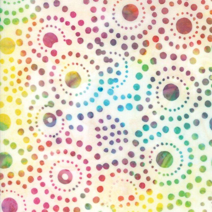 Carnival Batiks Cloud designed by Moda Fabrics