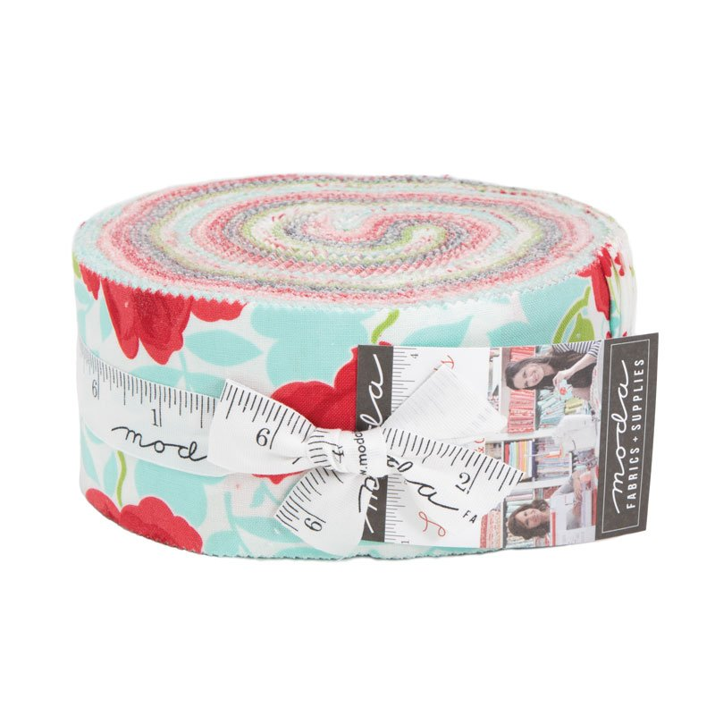 Little Snippets Jelly Roll (42 - 2 1/2 x WOF Strips) designed by Bonnie & Camille for Moda