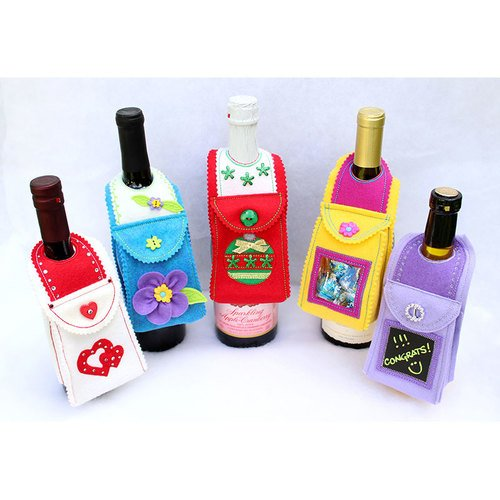 Bottle Buddies Bottle Gift Bags designed by Peaceful Designs