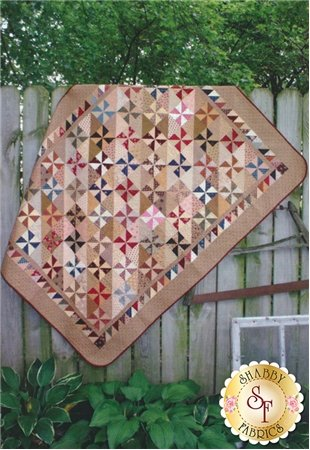 Country Threads Line Up Quilt Pattern designed by Country Threads, 50 x 66