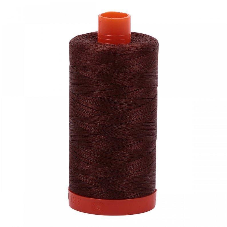 Aurifil 50wt 1300m Cotton 2360 - Chocolate
