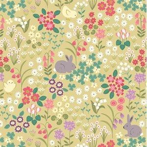 Bunny Hop Spring Yellow 6530-1
