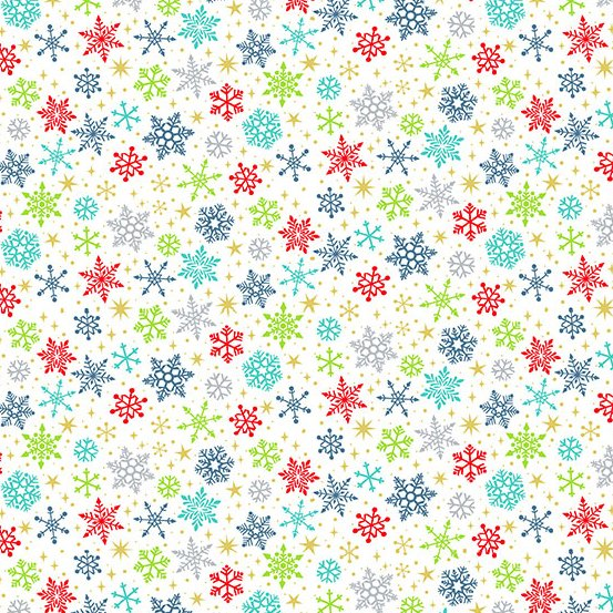 Santa Express - Snowflake Multi