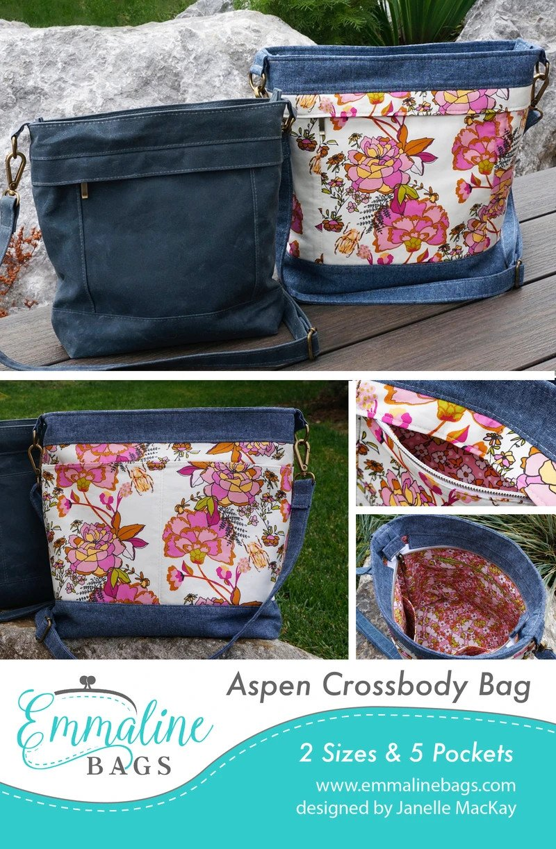 Aspen Crossbody Bag Emmaline Bags