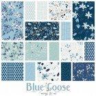 Blue Goose fat quarter bundle - 17 fqs