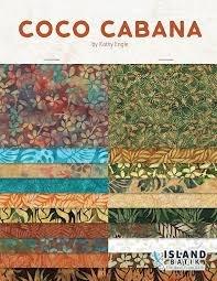 Coco Cabana Batik Bundle - 7 FQ's