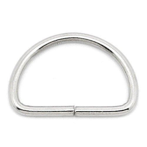 D-Rings 1 1/2 in Nickel