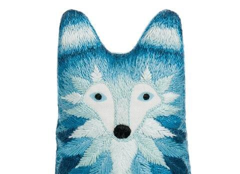 Kiriki Press DIY Embroidered Doll Starter Kit - Wolf
