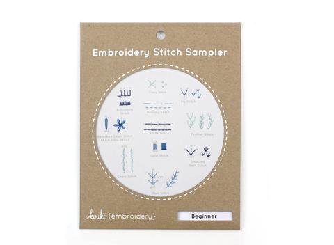 Kiriki Press Embroidery Stitch Sampler - Beginner