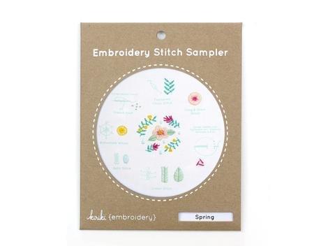 Kiriki Press Embroidery Stitch Sampler - Spring
