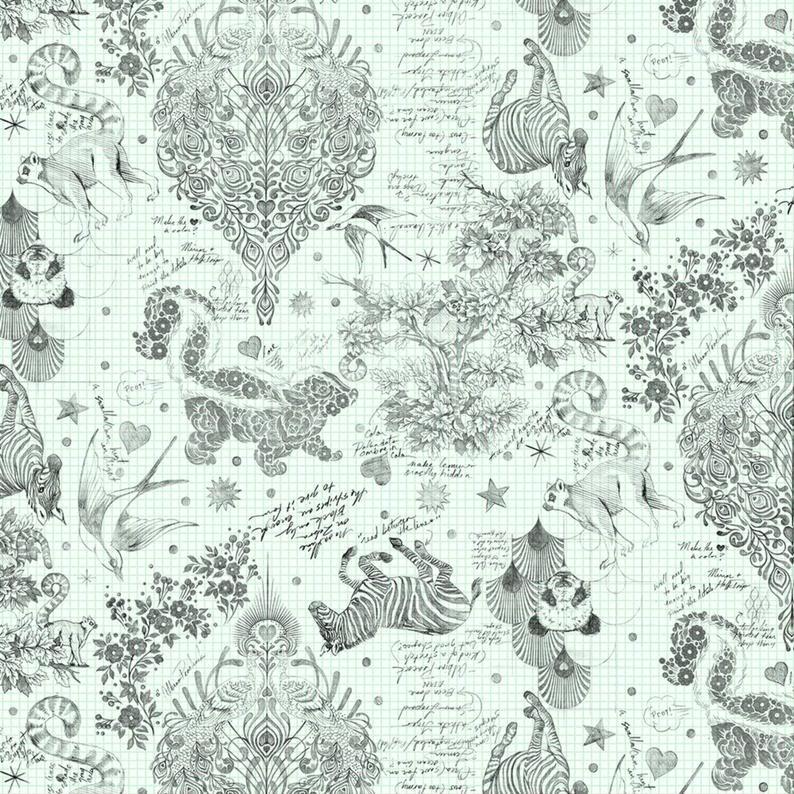 Tula Pink Linework - Sketchy paper