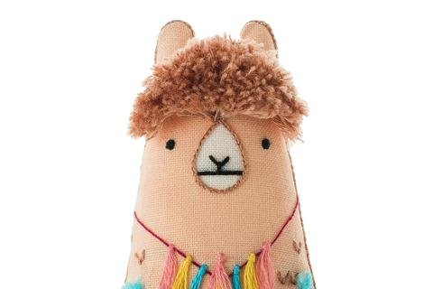 Kiriki Press DIY Embroidered Doll Starter Kit - Llama