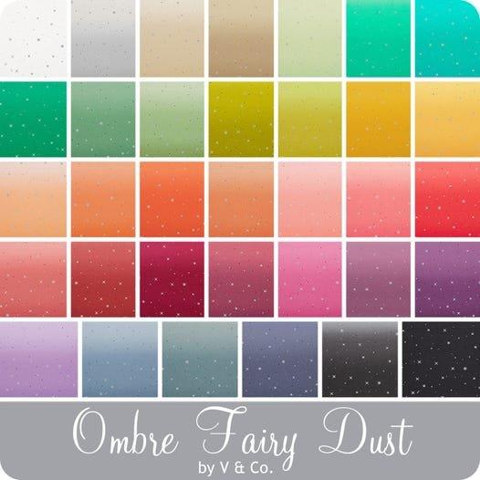 Ombre Fairy Dust - 34 FQ bundle