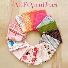 Open Heart FQ Bundle - 16 fqs