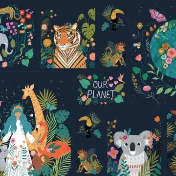Our Planet by Dashwood Studios 1730 Panel