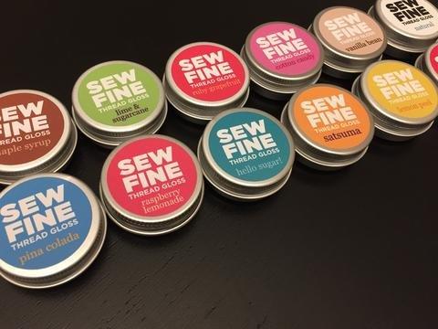 Sew Fine Maple Syrup Thread Gloss