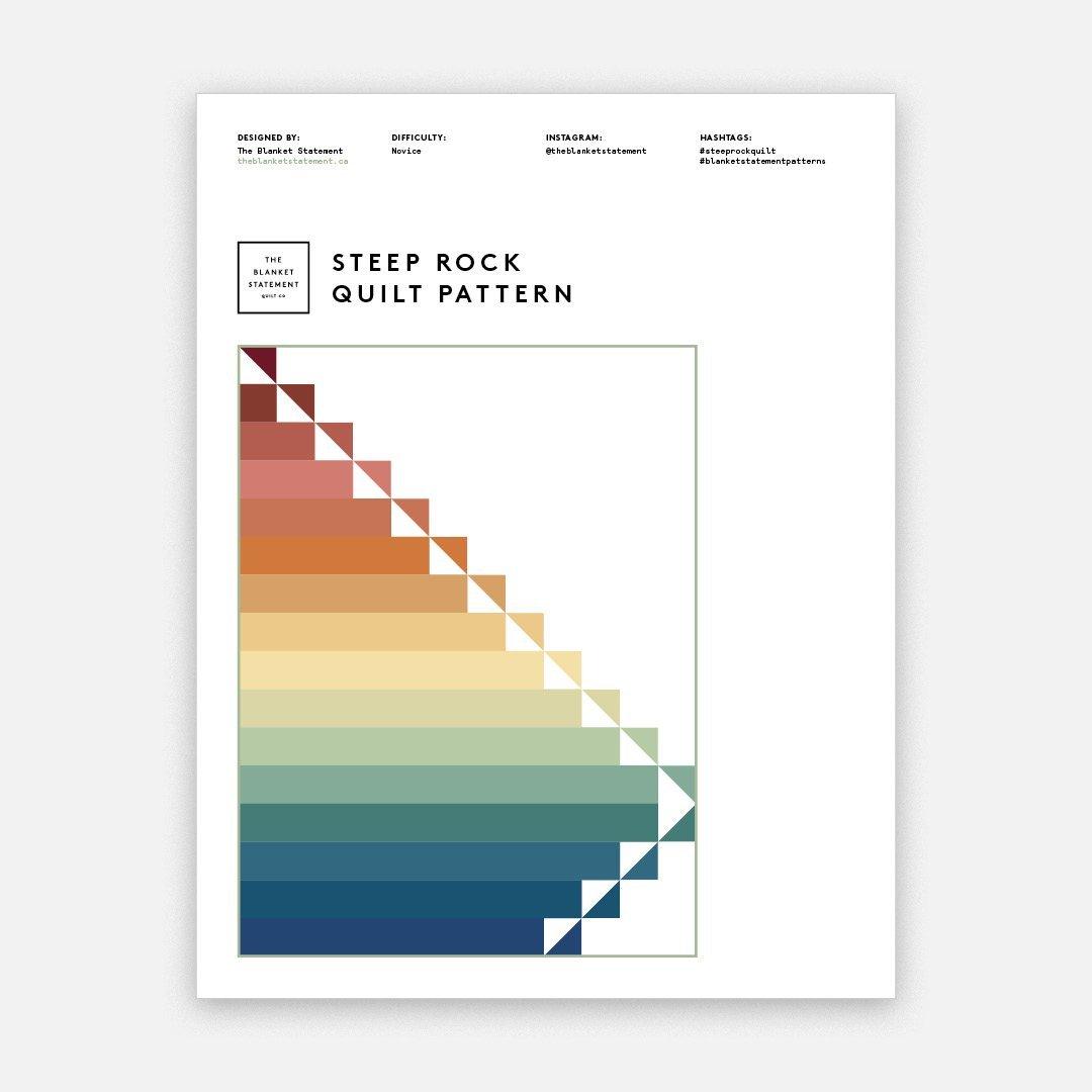 Steep Rock Quilt Pattern