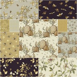 Tell the Bees Fat Quarter bundle - 18 fqs