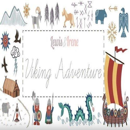 Viking Adventure fat quarter bundle - 9FQs