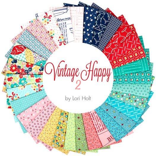 Vintage Happy 2 Fat Quarter Bundle - 31 fqs