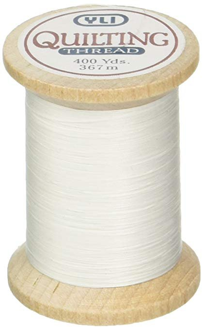 YLI Cotton Hand Quilting Thread 500yds 40/3ply 001-Natural