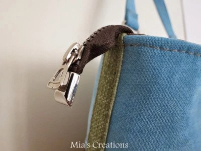 Emmaline Bags Zipper Ends - Nickel
