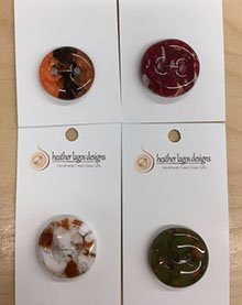 Heather Lagos Designs Glass Buttons
