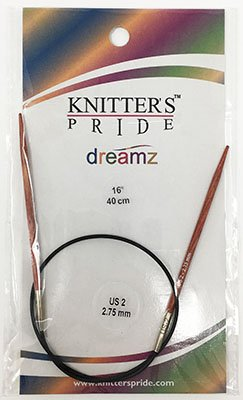 Knitter's Pride Dreamz Double End Needle - size US 2 (2.75mm) 16 (40cm)