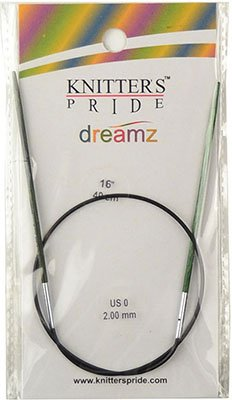Knitter's Pride Dreamz Double End Needle - size US 0 (2.00mm) 16 (40cm)
