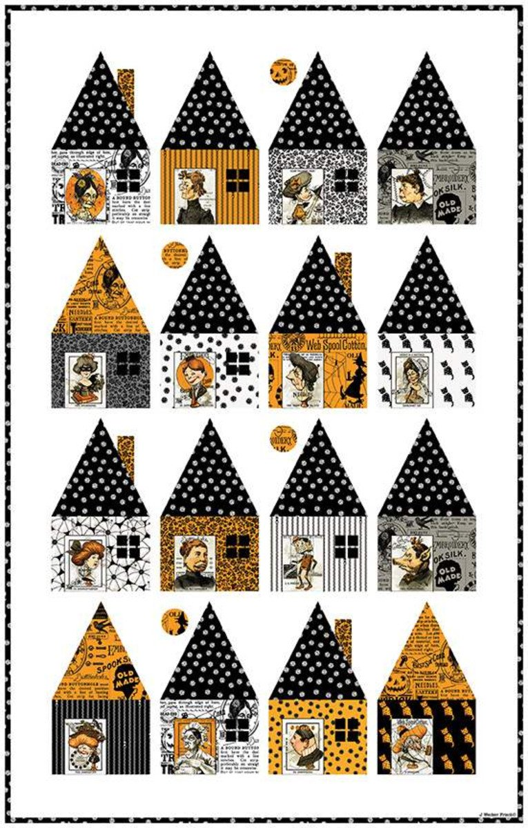 Cabin Chills Quilt Kit featuring Old Made Fabric by J Wecker Frisch