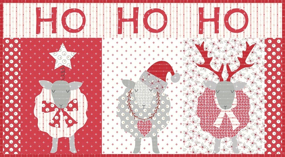 Ho Ho Ho Bunny Hill Designs Kit