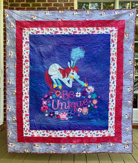 Uni the Unicorn Panel Quilt Kit