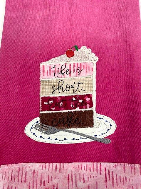 Kimberbell February Blanks - Tea Towel Kit