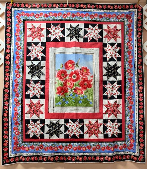 Poppy Meadow Quilt Kit