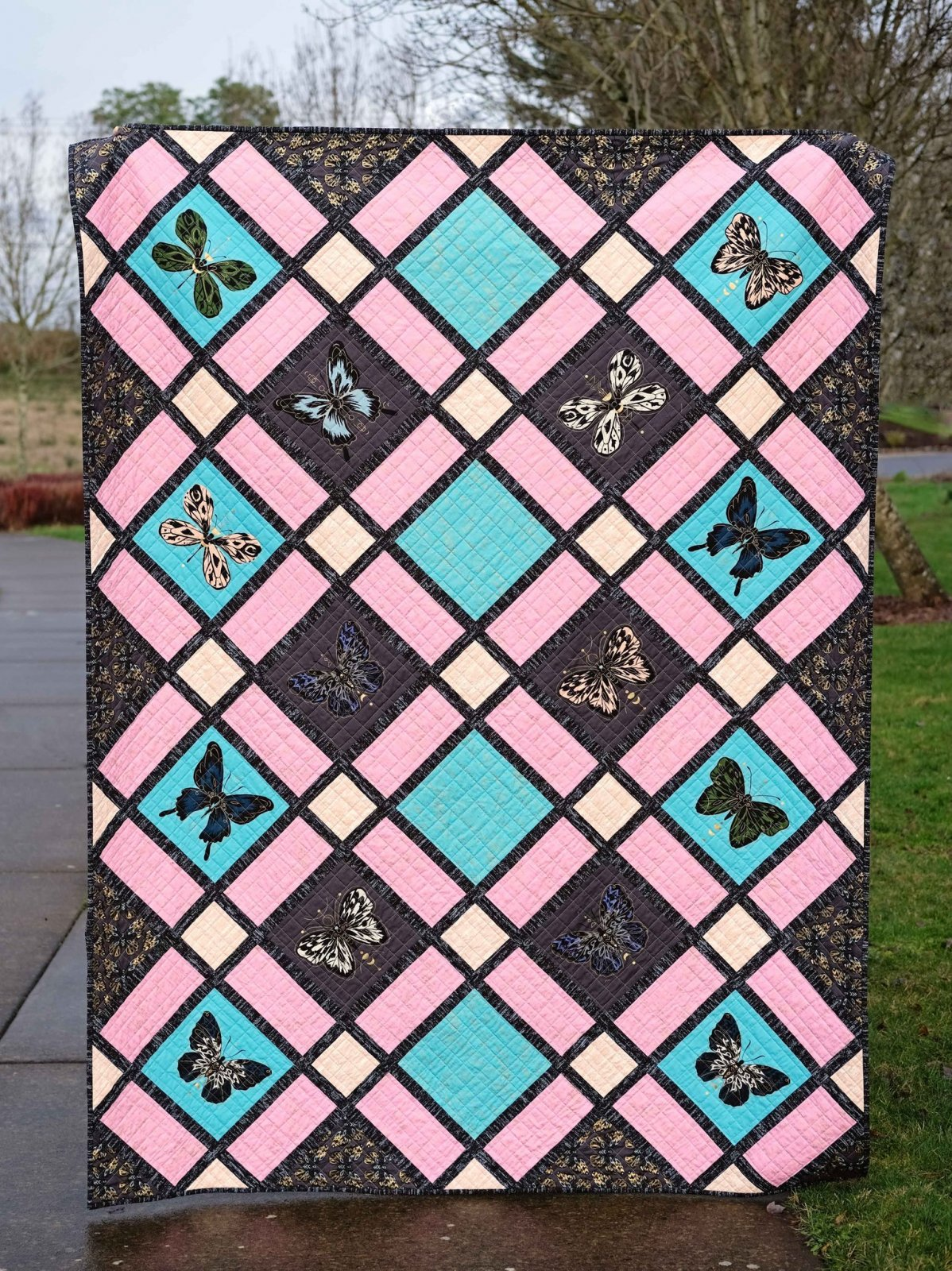 The Delilah Quilt Kit
