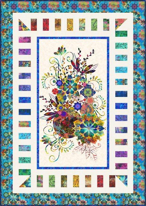 Venice Charming Panels Quilt Kit by Robert Kaufman