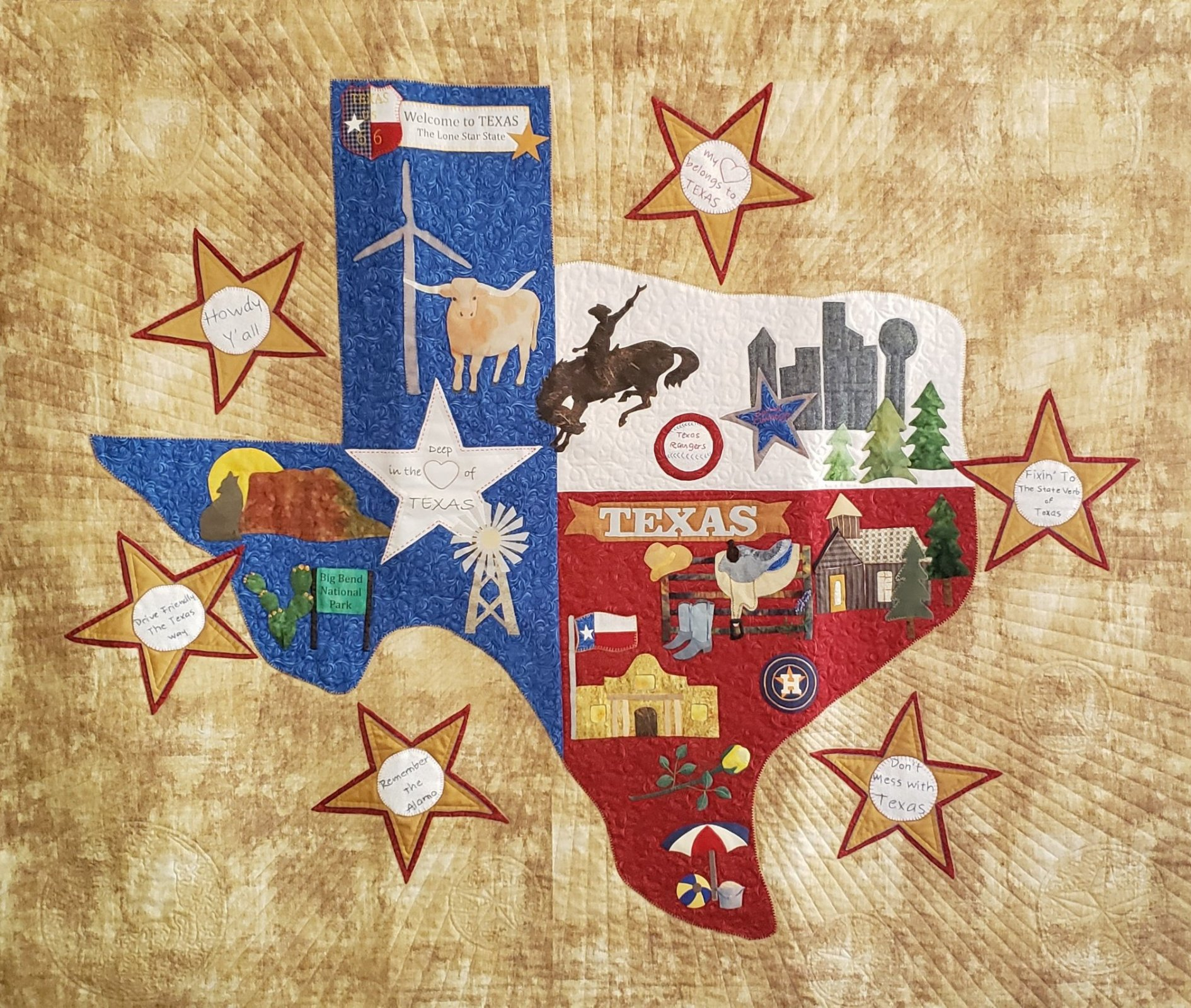 It's a Texas Thang, Y'all - Alice Wilhoit