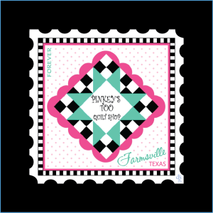 Pinkey's Too Charm Stamp