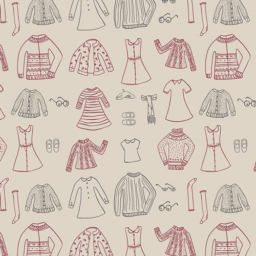 Paper cut Wardrobe Snowday - Little Clementine