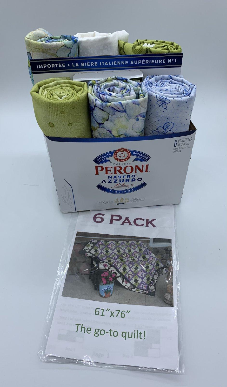 6 Pack Go-To Quilt Kit