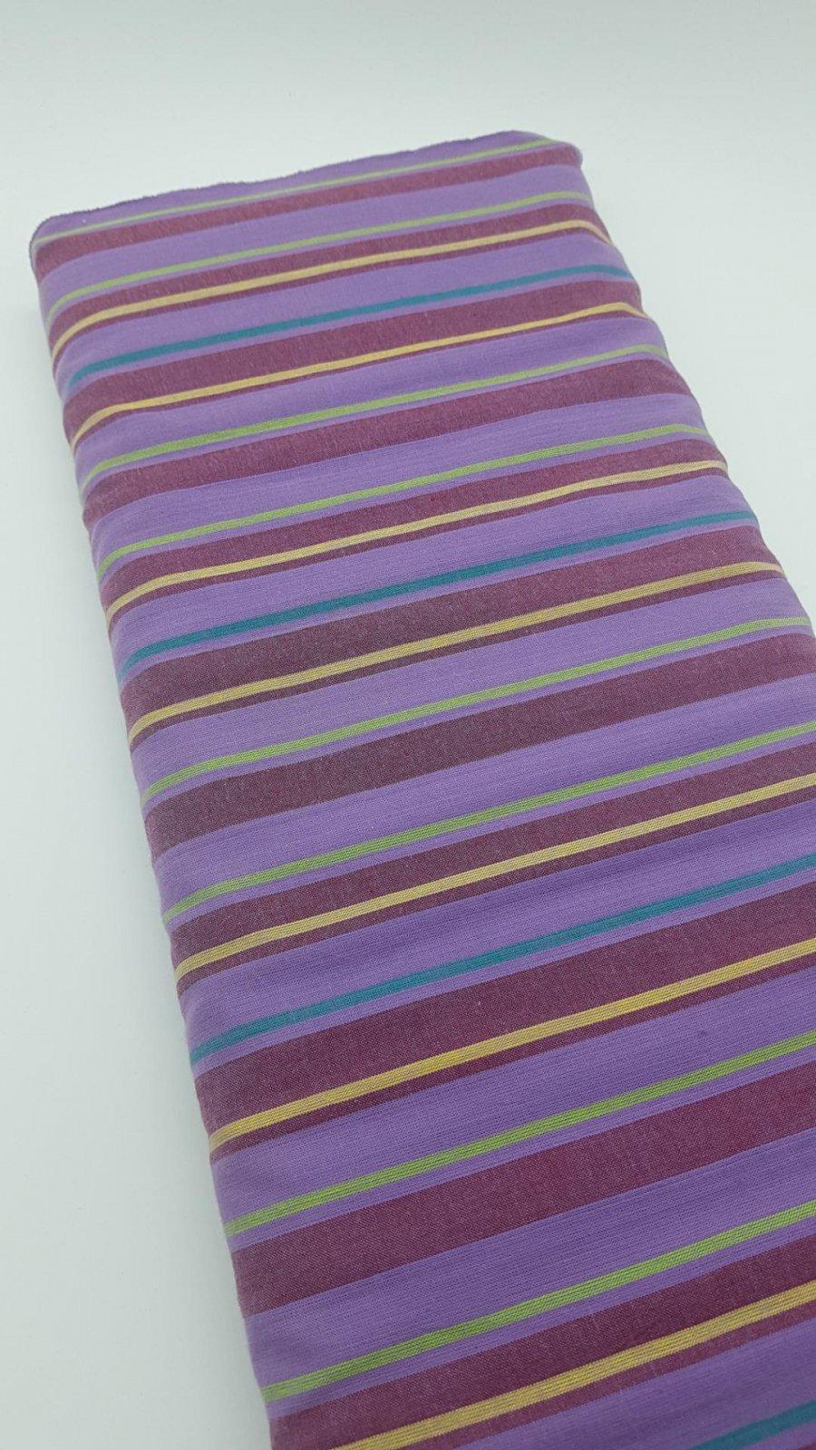 Kaffe Fassett - Wovens - Alternating Stripe - Lavender