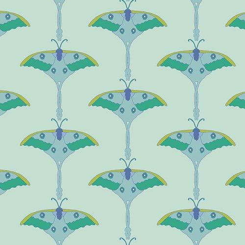 Art Gallery Fabric- Moonmoth