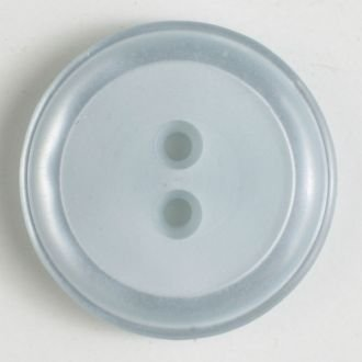 Polyester Button 23mm Blue