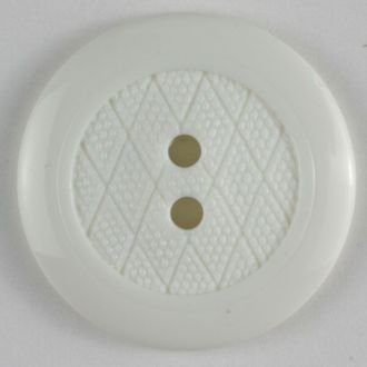Cream Lattice Buttons- 20mm 2 hole color 11