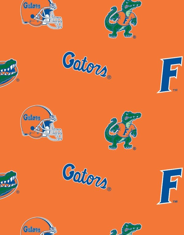 University of Florida Logo Orange